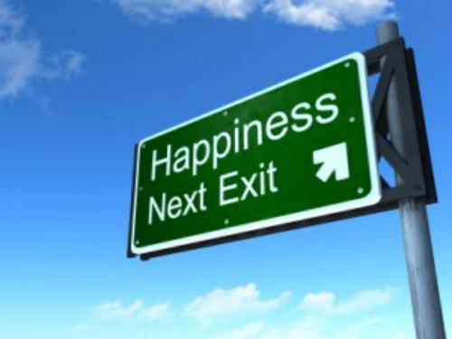 La strada per la felicità